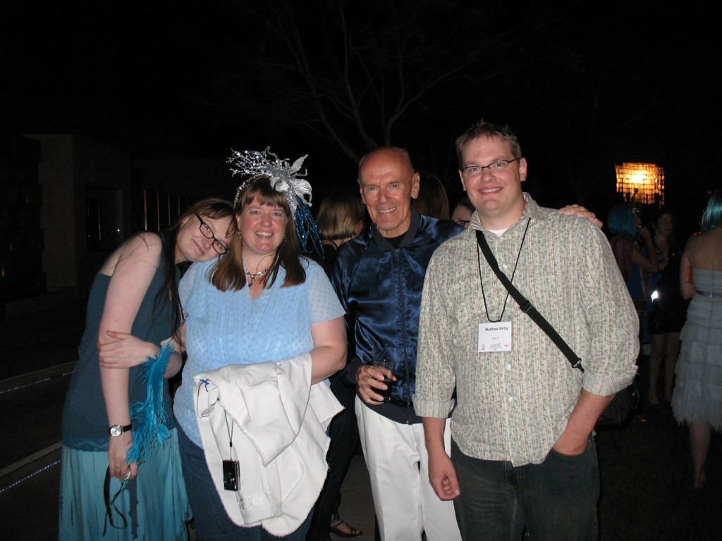 Ingrid Law and her daughter, Richard Peck, and me
