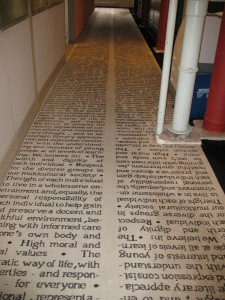 Scholastic Credo Carpet