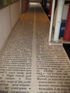 Scholastic Credo Carpet